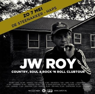 JW Roy, 7 mei Theater De Steenakker Haps