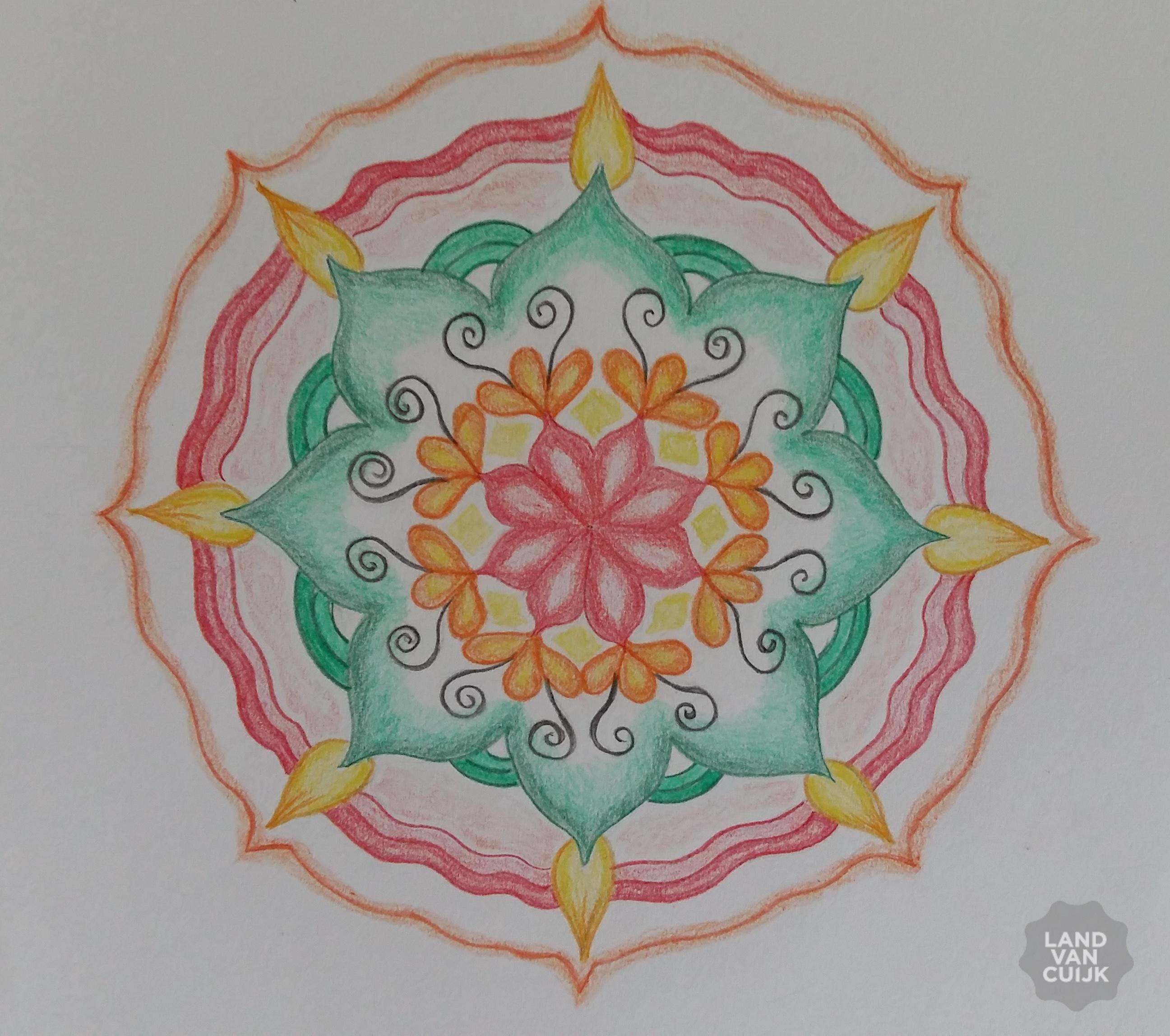 basiscursus mandala tekenen door mia tielen-poels in 't helder