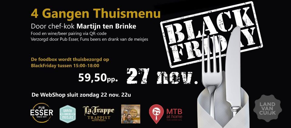 Black Friday met Martijn ten Brinke!